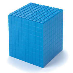 Interlocking Base 10 (Ten) Cube