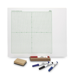 Nasco Double-Sided Dry-Erase Teacher Coordinate Board