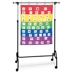 Rainbow Pocket Chart and Stand