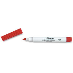 Nasco Cone-Point Dry-Erase Markers