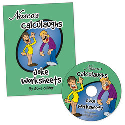 Nasco Calculaughs Joke Worksheets, Calculaughs