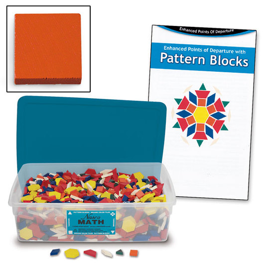 Bulk Wooden Pattern Blocks