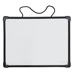 Double-Sided Magnetic Dry-Erase Board