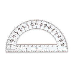 6 in. Professional Protractor Bulk Set