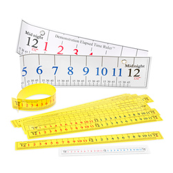 Elapsed Time Ruler, Classroom Pack