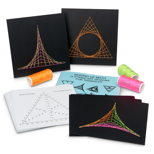 String Designs for Triangles