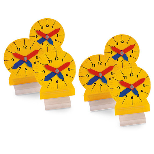Nasco Elapsed Time Student Clock Set