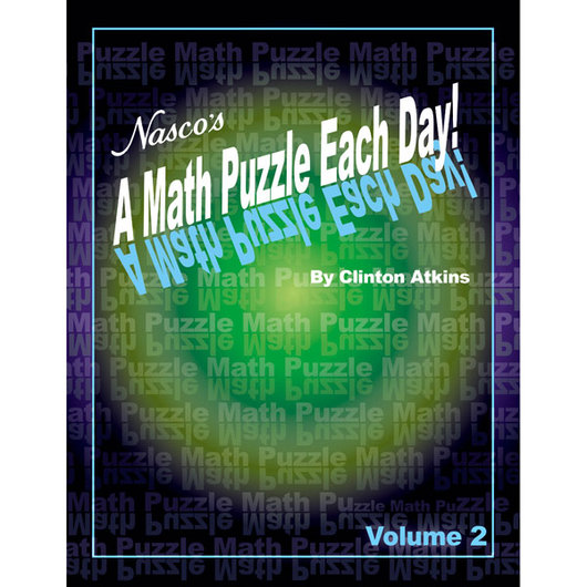 Nasco A Math Puzzle Each Day! - Volume 2