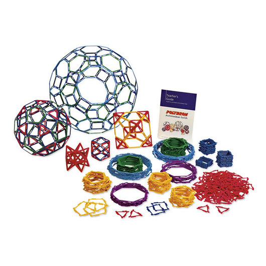 Polydron® Frameworks® Archimedean Solids Class Set