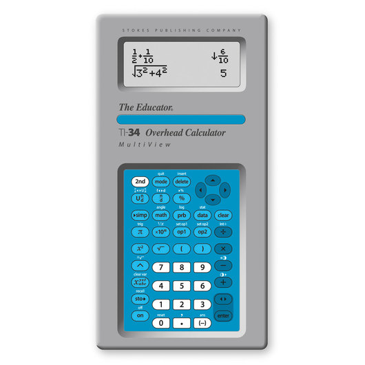 TI-34 MultiView™ Overhead Calculator | Scientific Calculators ...