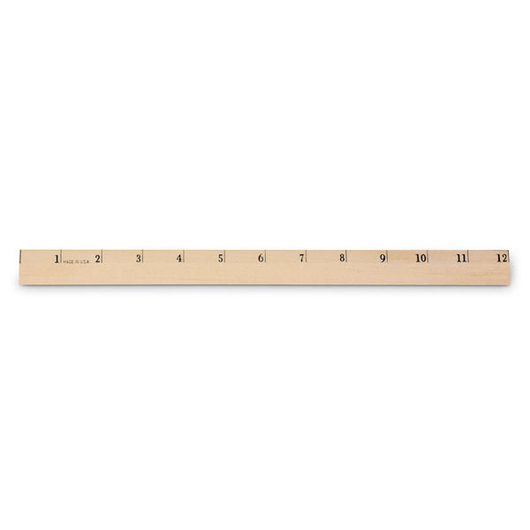 Primary Ruler, Scaled in 1 in.