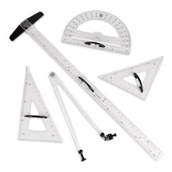 Whiteboard/Chalkboard Drawing Instrument Set