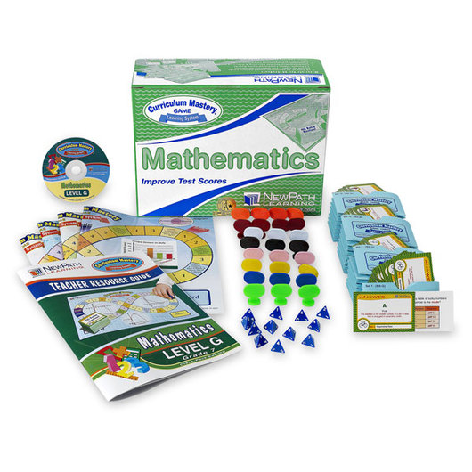 NewPath Learning® Mastering Math Skills Classroom Pack - Level G/Grade 7