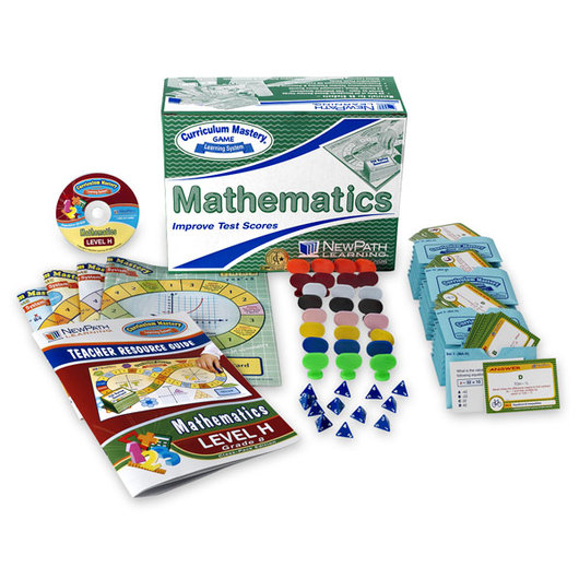 NewPath Learning® Mastering Math Skills Classroom Pack - Level H/Grade 8