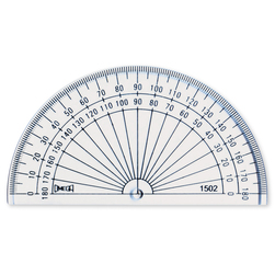Solid Protractor, 4 in.