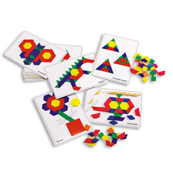 Pattern Block Picture Cards