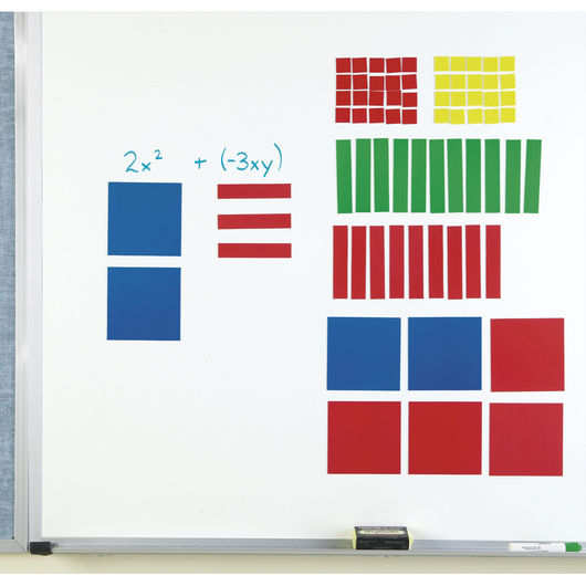 Magnetic Algebra Tiles™ Demo Set