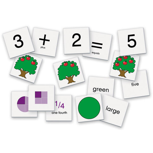 Early Math Skills Card Set