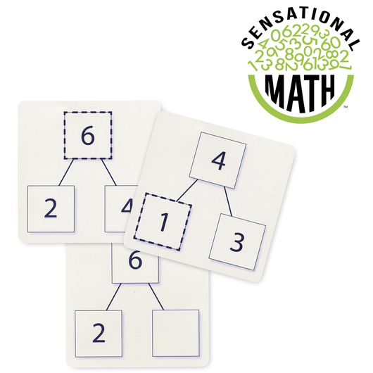 Visualize Addition and Subtraction Operations with Number Bonds