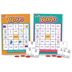 Fractions-Decimals-Percents Bingo