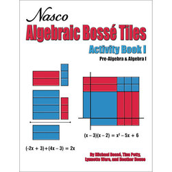 Nasco Algebraic Bossé Tiles Activity Book I