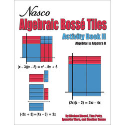 Nasco Algebraic Bossé Tiles Activity Book II