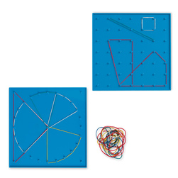 7 x 7 Pin/24-Pin Double-Sided Geoboard