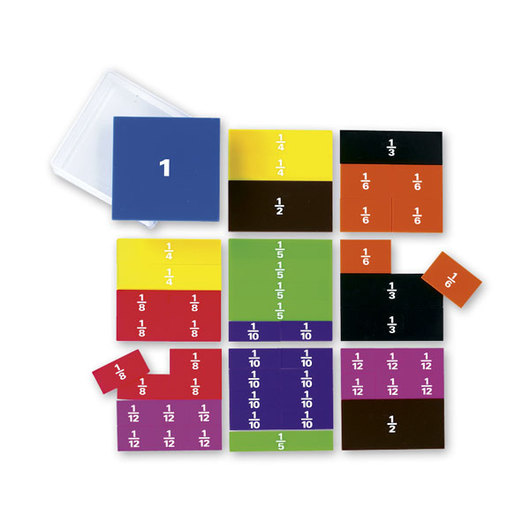 Printed Student Fraction Squares