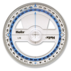 Helix 4 in. Angle Measure Protractor
