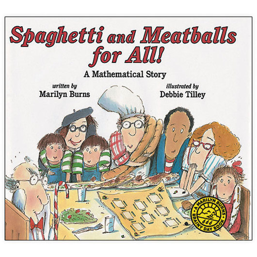 Marilyn Burns Brainy Day Books - Spaghetti and Meatballs for All!, Softcover