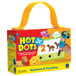 Hot Dots® Jr.™ Card Set - Numbers & Counting