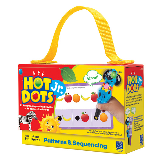 Hot Dots® Jr.™ Card Set - Patterns & Sequencing