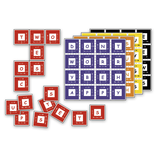 Nasco Equation Math Matching Game