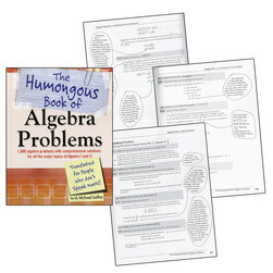 The Humongous Book of Math Problems, Algebra