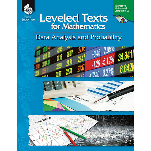 Leveled Texts for Mathematics - Data Analysis and Probability Book & CD