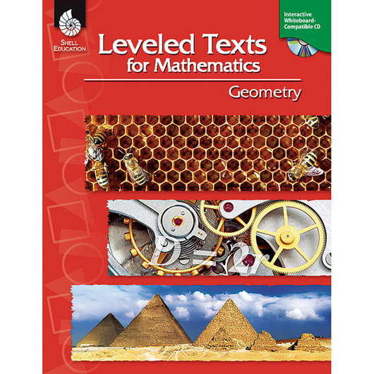 Leveled Texts for Mathematics - Geometry Book & CD