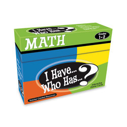 I Have Who Has? Math Game