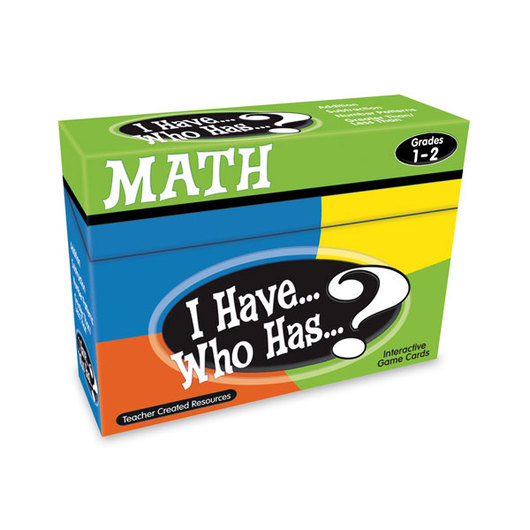 I Have... Who Has...? Math Game - Grades 1-2