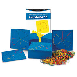 7 x 7 Pin/24-Pin Double-Sided Geoboard Classroom Set
