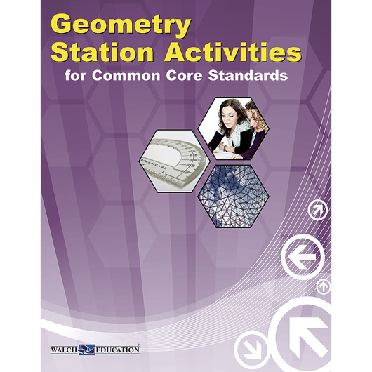 Geometry Station Activities for Common Core Standards