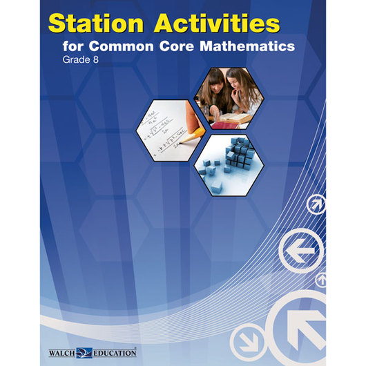 Station Activities for Common Core Mathematics - Grade 8