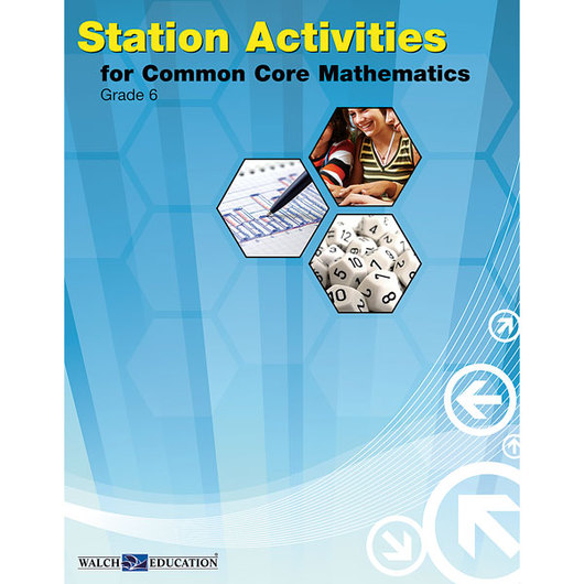 Station Activities for Common Core Mathematics - Grade 6