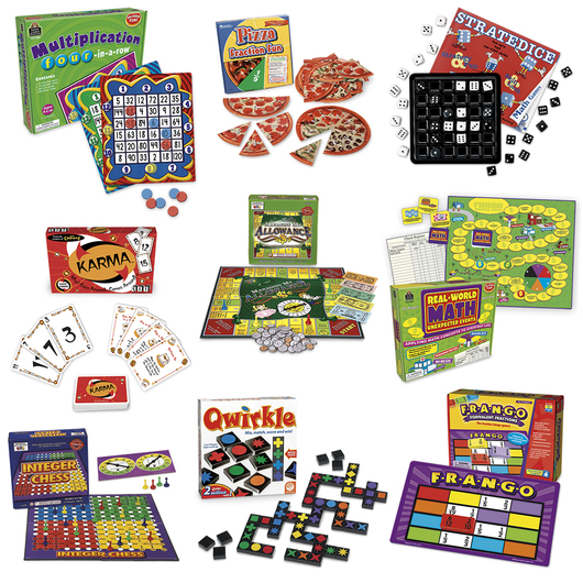 Elementary Math Game Kit - Level 2