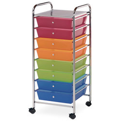 Alvin® Blue Hills Studio™ 8-Drawer Storage Cart