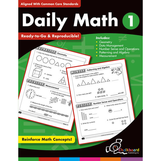 Daily Math Book - Grade 1