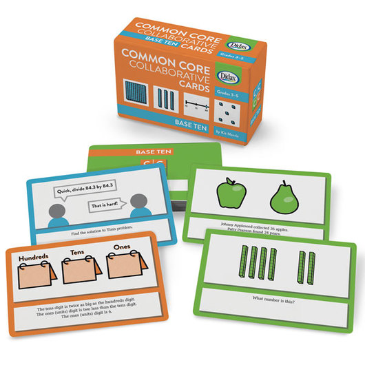 Common Core Collaborative Cards - Base 10, Grades 3-5