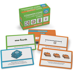 Common Core Collaborative Cards, Fractions