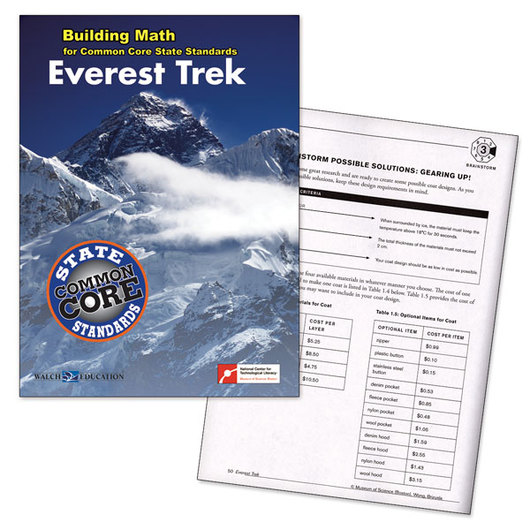Building Math Series for Common Core State Standards - Everest Trek