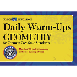 Daily Warm-Ups: Geometry for Common Core State Standards, Geometry