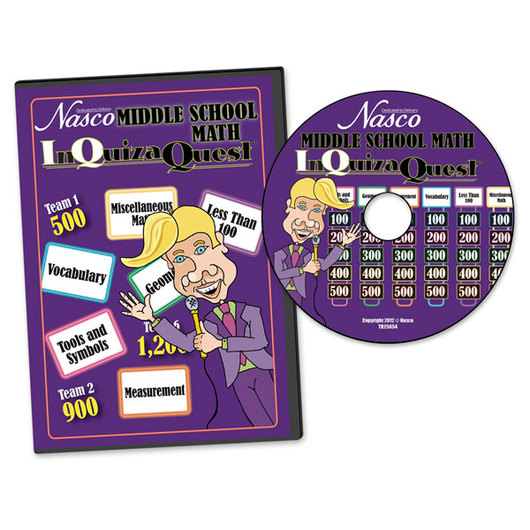 Nasco InQuizaQuest® - Middle School Math